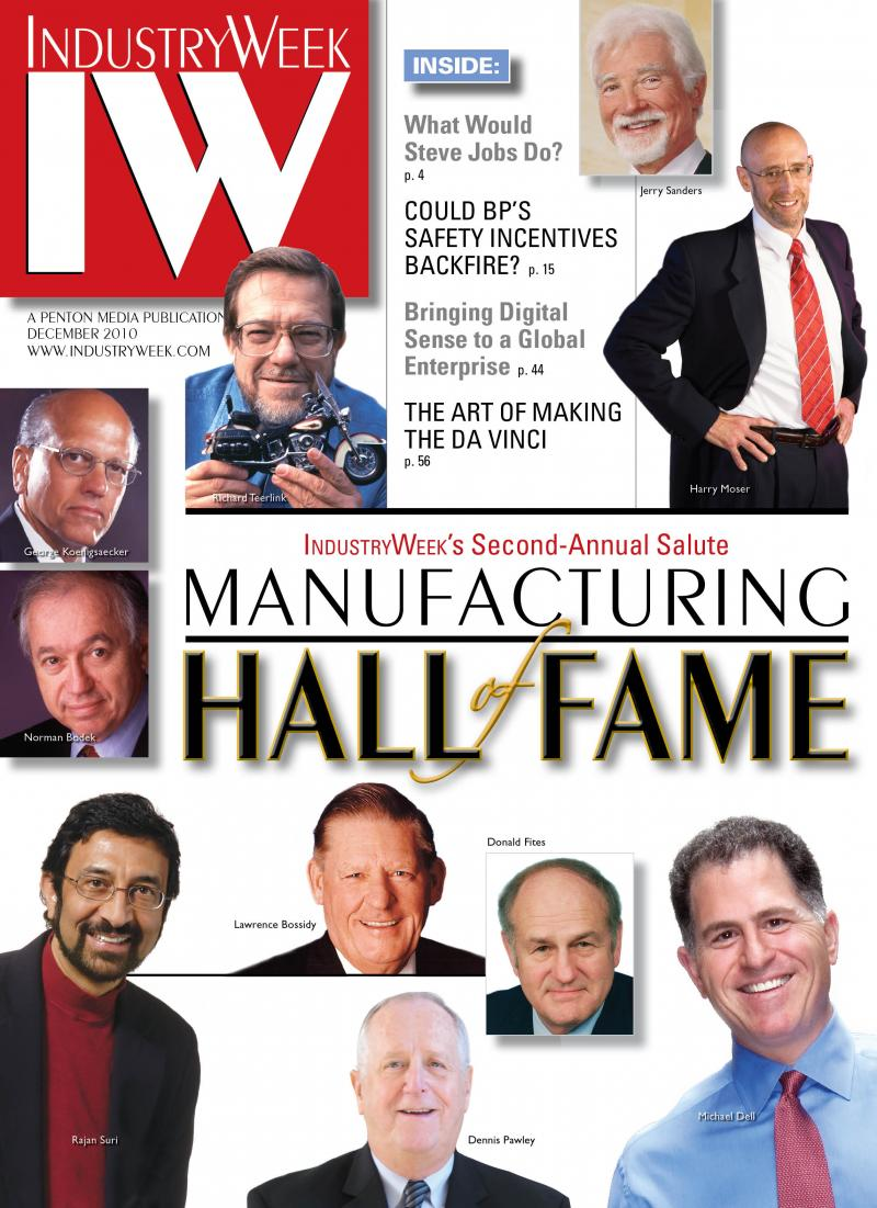 Industry Week Cover December 2010
